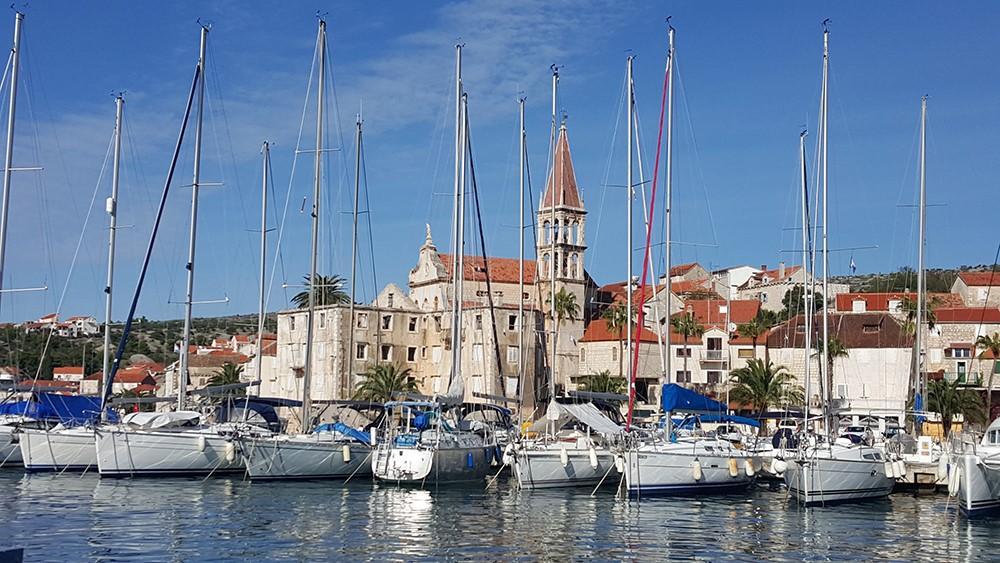 Yacht Club Milna, Island Brac, Croatia