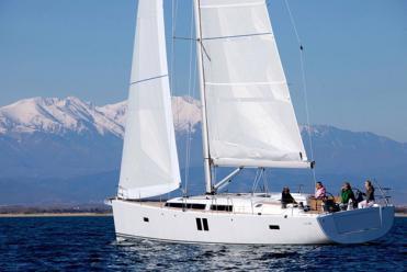 Sailboat Hanse 495 (3 cab)