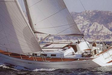 Sailboat Dufour 44